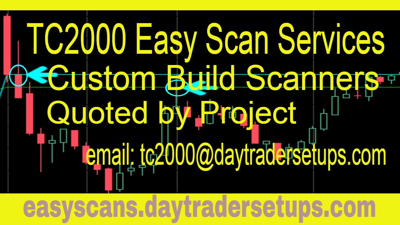TC2000 Custom Built Easy Scans Services