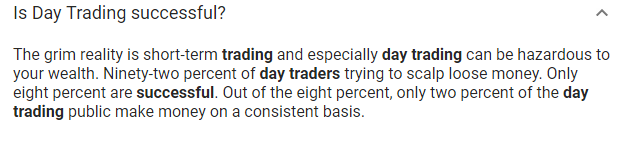 Is Day Trading Successful